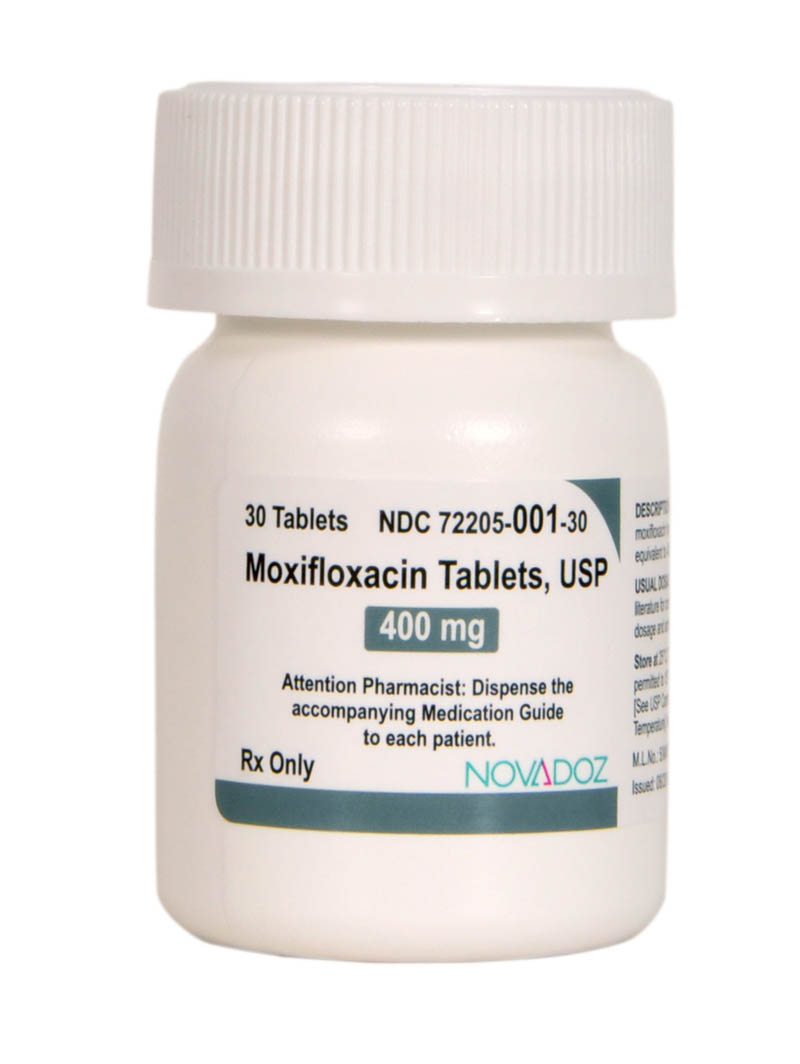 Moxifloxacin 400mg - 30 count bottle-final