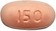 CAPECITABINE 150MG TABLET FRONT
