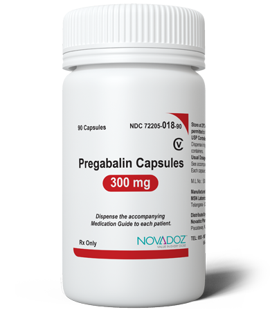 Pregabalin 300mg 90 Tablet Bottle