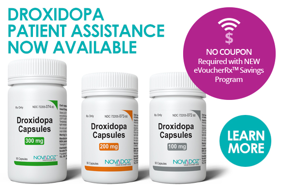 DROXIDOPA PATIENT ASSISTANCE NOW AVAILABLE